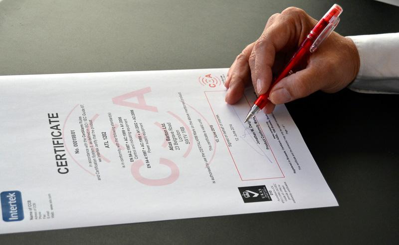 CertAlarm - Partnership ALTER - Signing