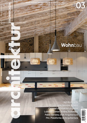 Architektur Fachmagazin Ausgabe März 2016