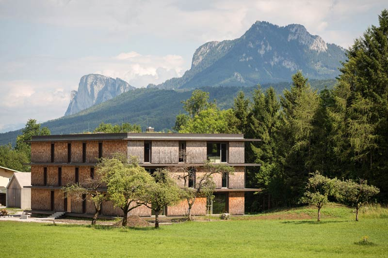 Nachhaltigkeit spielt in der Architektur eine große Rolle.