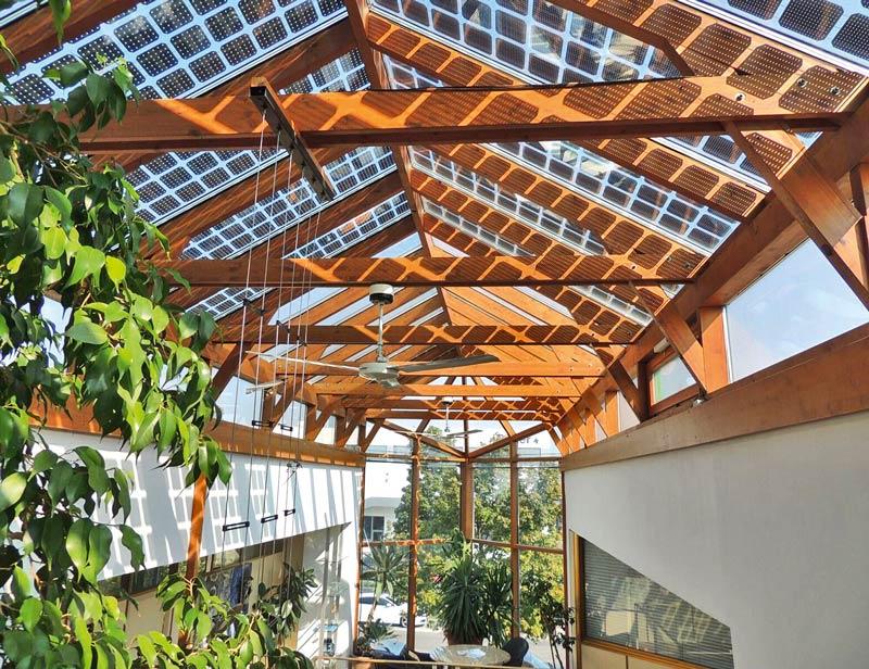 Fotovoltaik Terrassenüberdachung