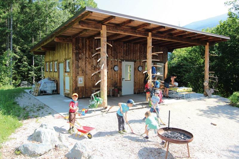 Containex Waldkindergarten