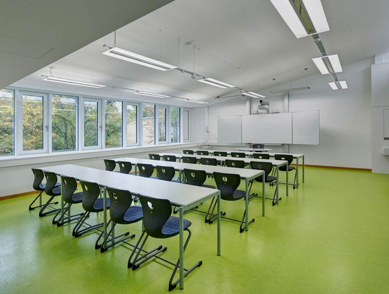 Uhlandschule Klassenzimmer