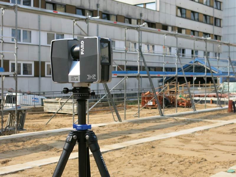 Staiv montierte 3D Laserscanner