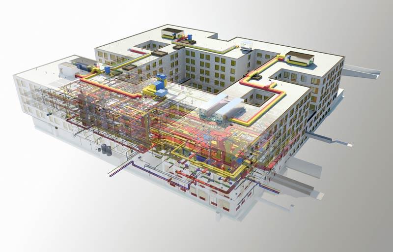 BIM Software_Autodesk_BAM-Swiss-AG_Felix-Platter-Spital_Basel_-Navisworks