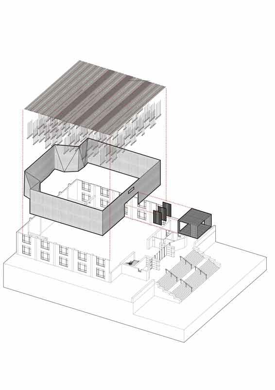 Multifunktionshalle bejing Plan
