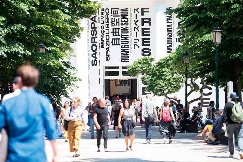 Hauptpavillon Biennale 2018 Venedig