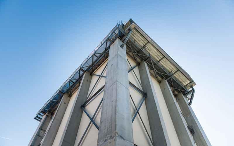 Fassadenpruefstand