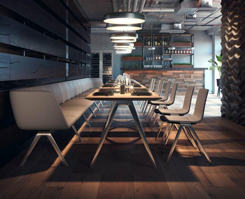 A_Bench_Location_Restaurant