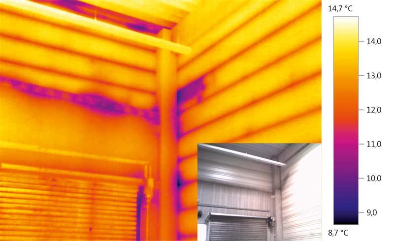 Differenzdruck-Thermografie