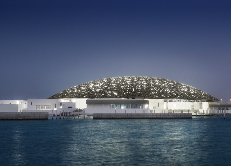 Louvre-Abu-Dhabi_Mohamed-Somji-Aussenansicht