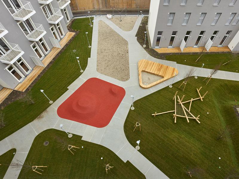 Seeparkquartier Innenhof