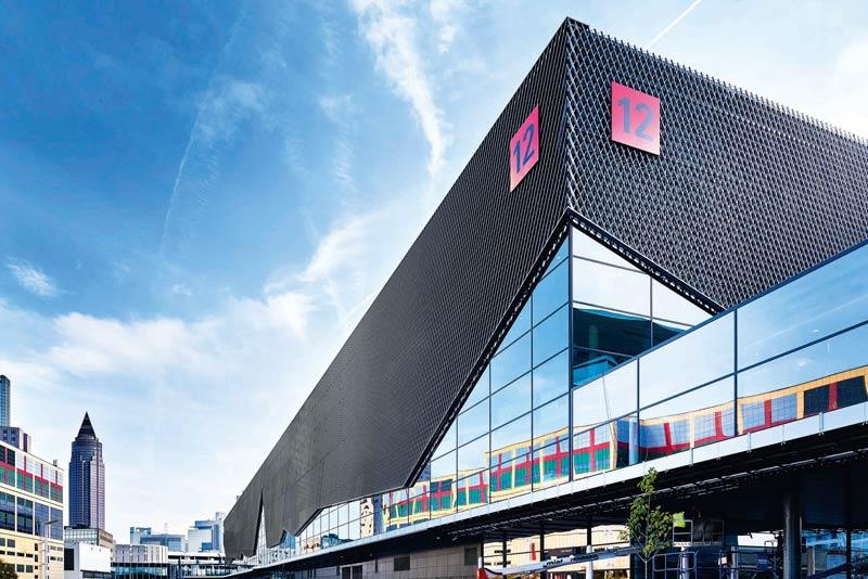 kadawittfeldarchitektur Messehalle Frankfurt