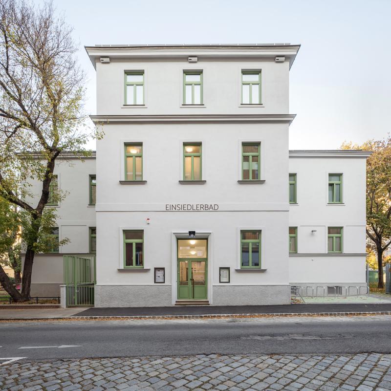 Einsiedlerbad Architektur illiz