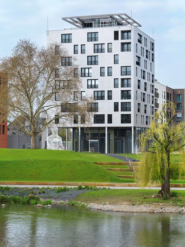 Stadtquartier Neckarbogen