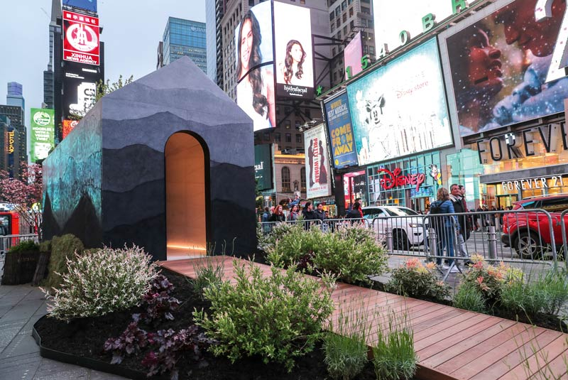 NYC Tiny House Times Square