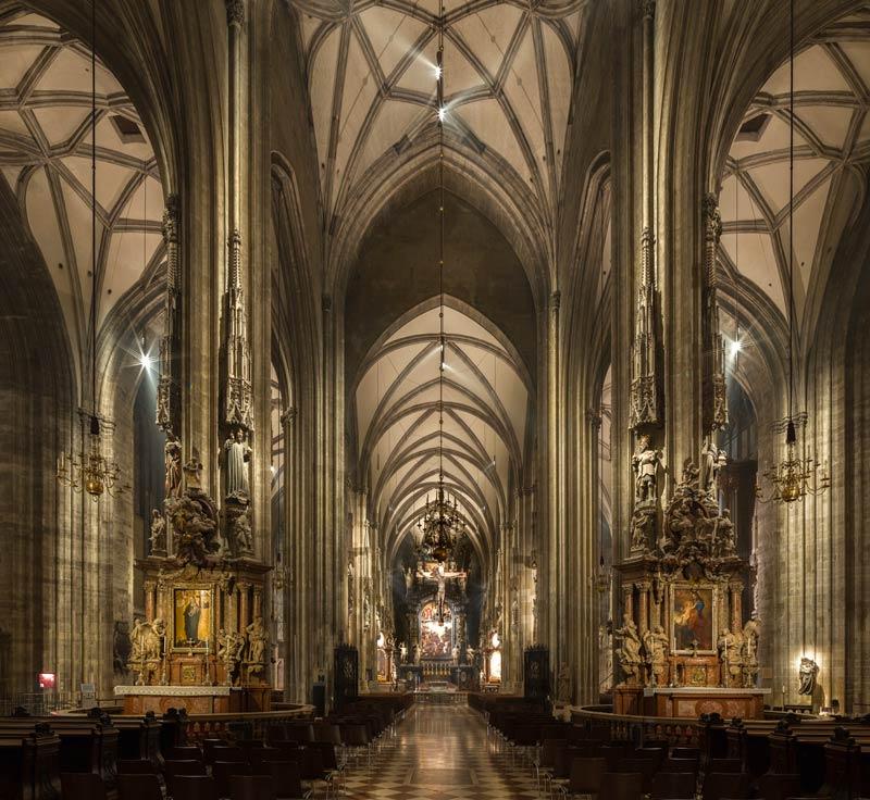 Stephansdom Licht