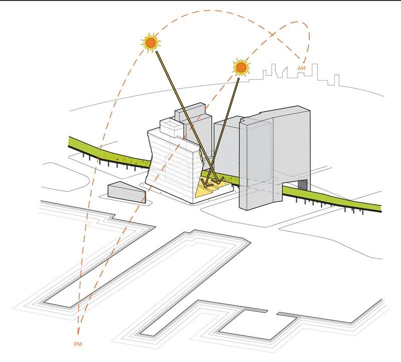 40TenthAve_Solar-Carving-Diagram_Copyright-Studio-Gang