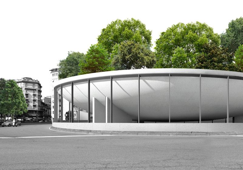 Piazzale Loreto Lad/Hypnos der beiden Architekten Nicola Brembilla und Francesco Napolitano