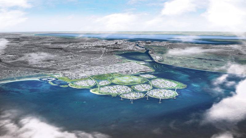 Landgewinnungsprojekt Kopenhagen