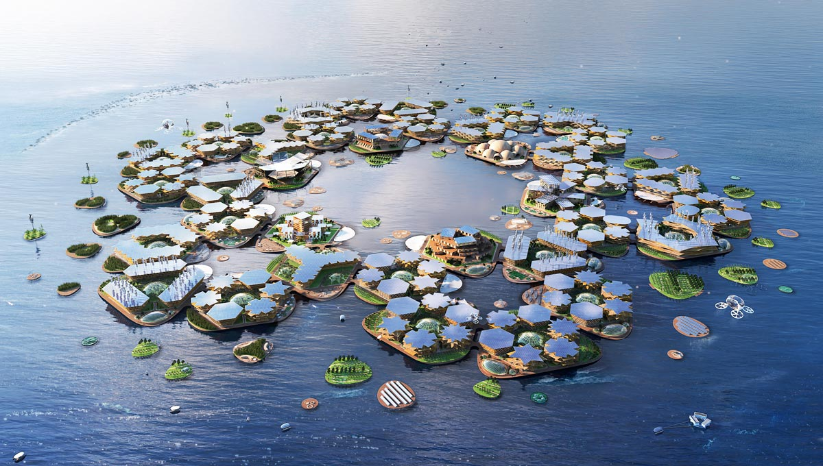 Bjarke Ingels Group BIG OceanixCity