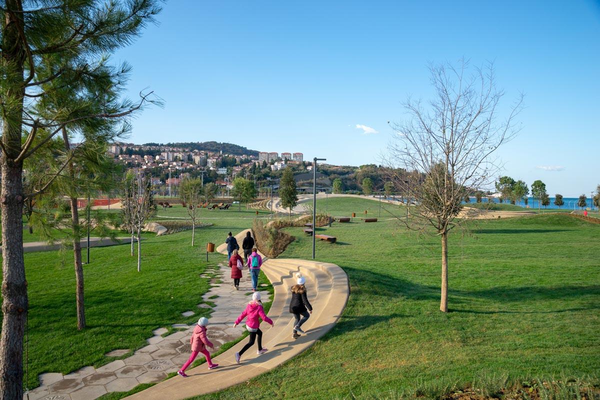 Stadtpark von Koper