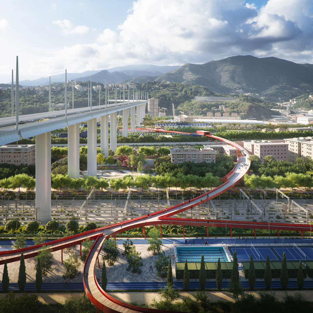 Morandi-Brücke in Genua Renzo Piano