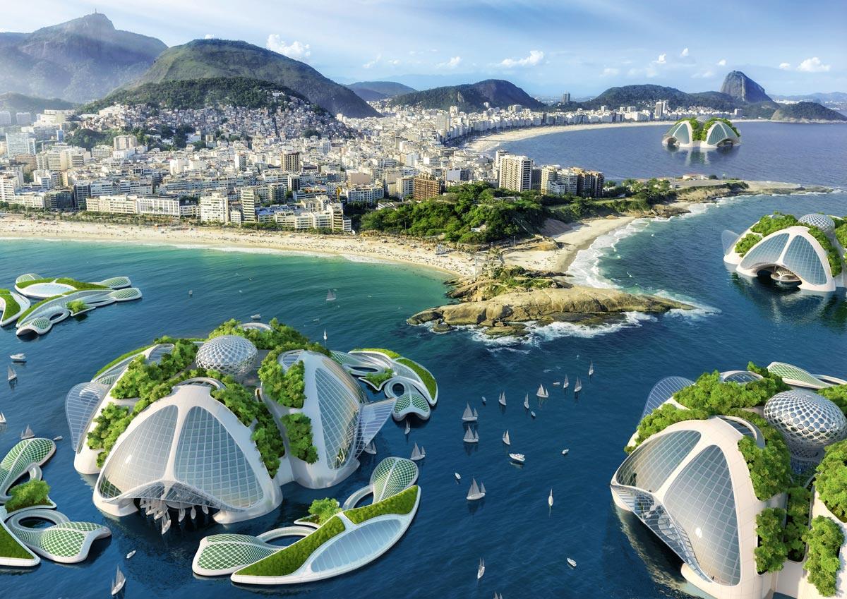 AEQUOREA von Vincent Callebaut Architectures