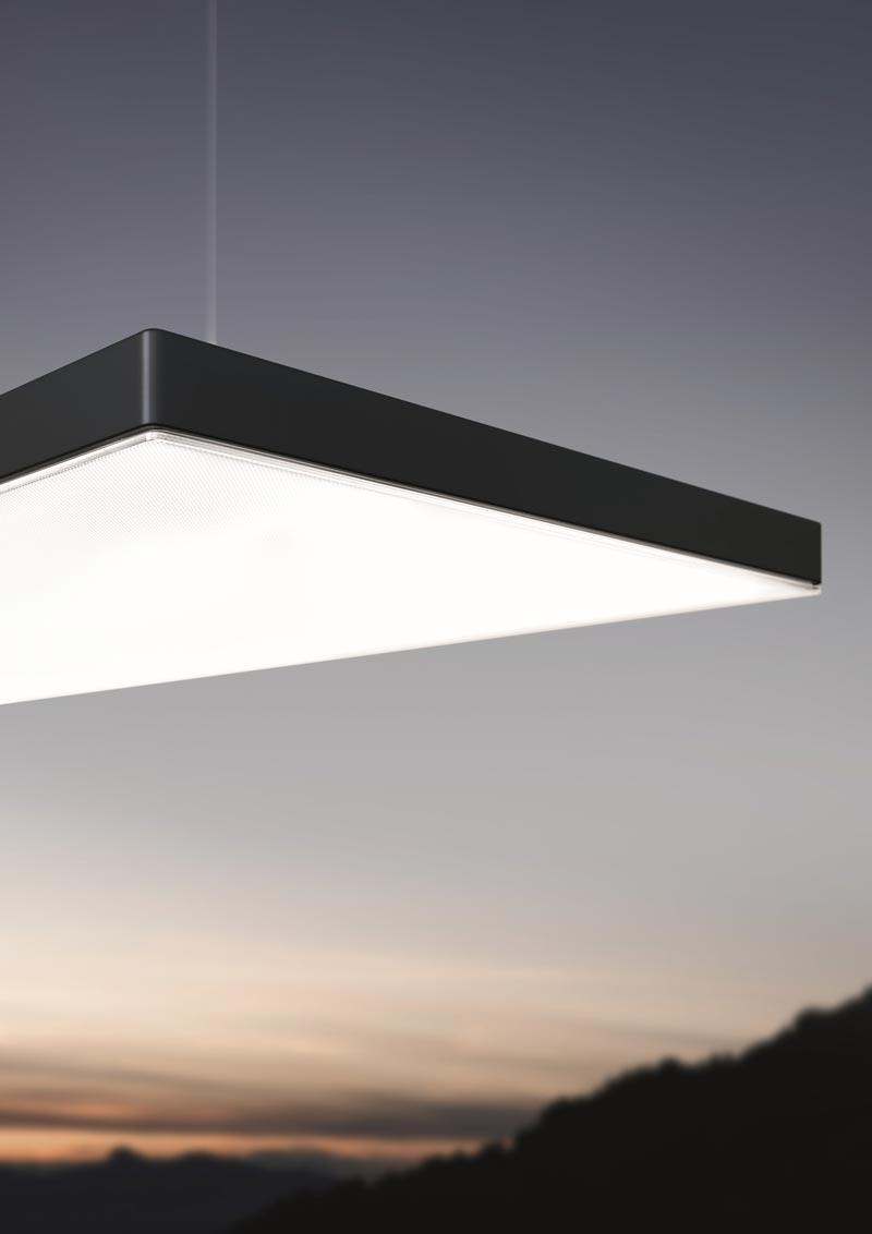 LIGHT FIELDS III von Zumtobel