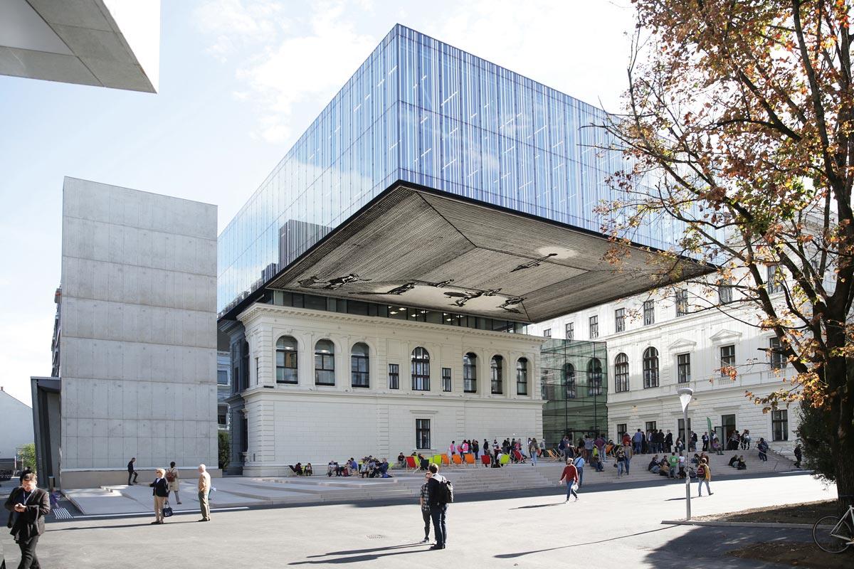 Das Bibliotheksgebäude der Karl-Franzens-Universität Graz