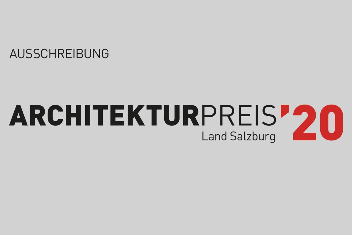 Architekturpreis Land Salzburg 2020
