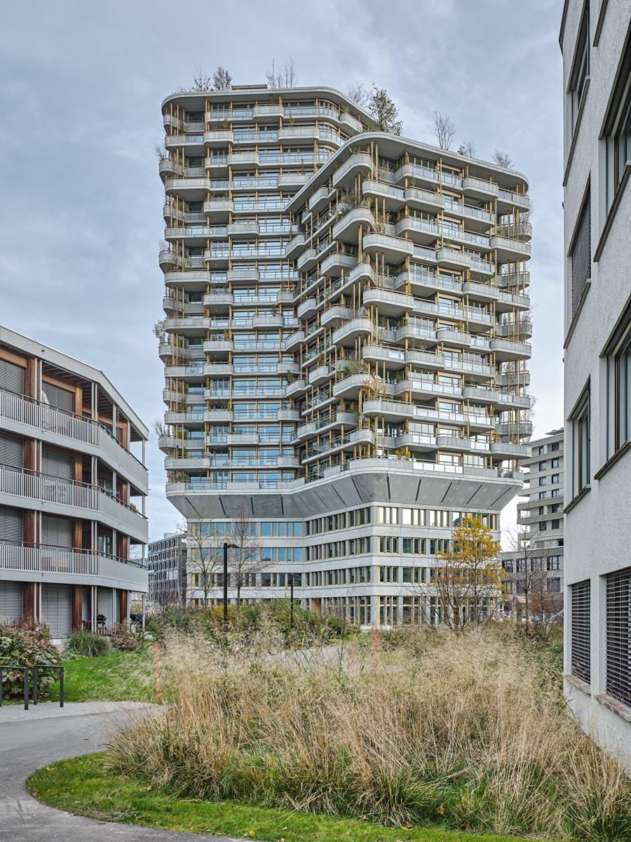 Gartenhochhaus Aglaya Rotkreuz Schweiz
