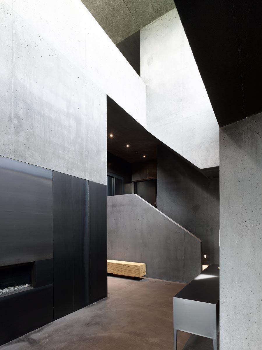 deux maisons / Zwei Häuser Lens, Schweiz