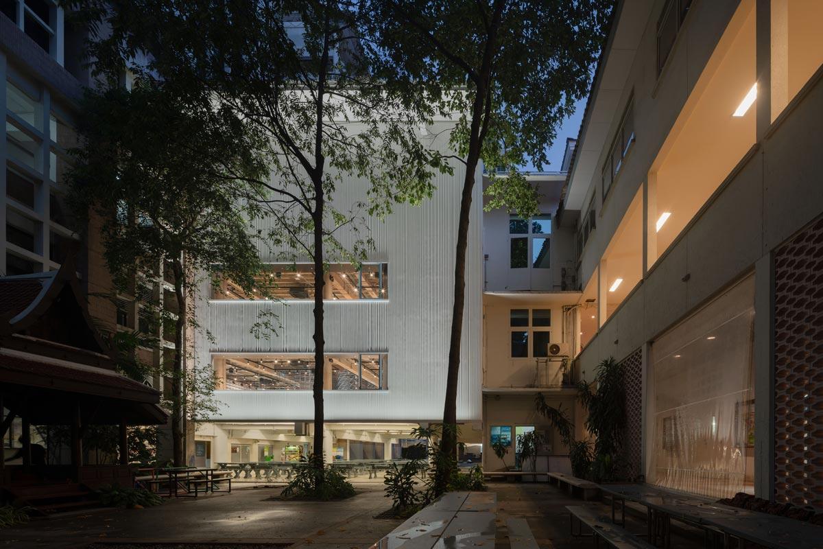 Architekturbibliothek der Chulalongkorn University