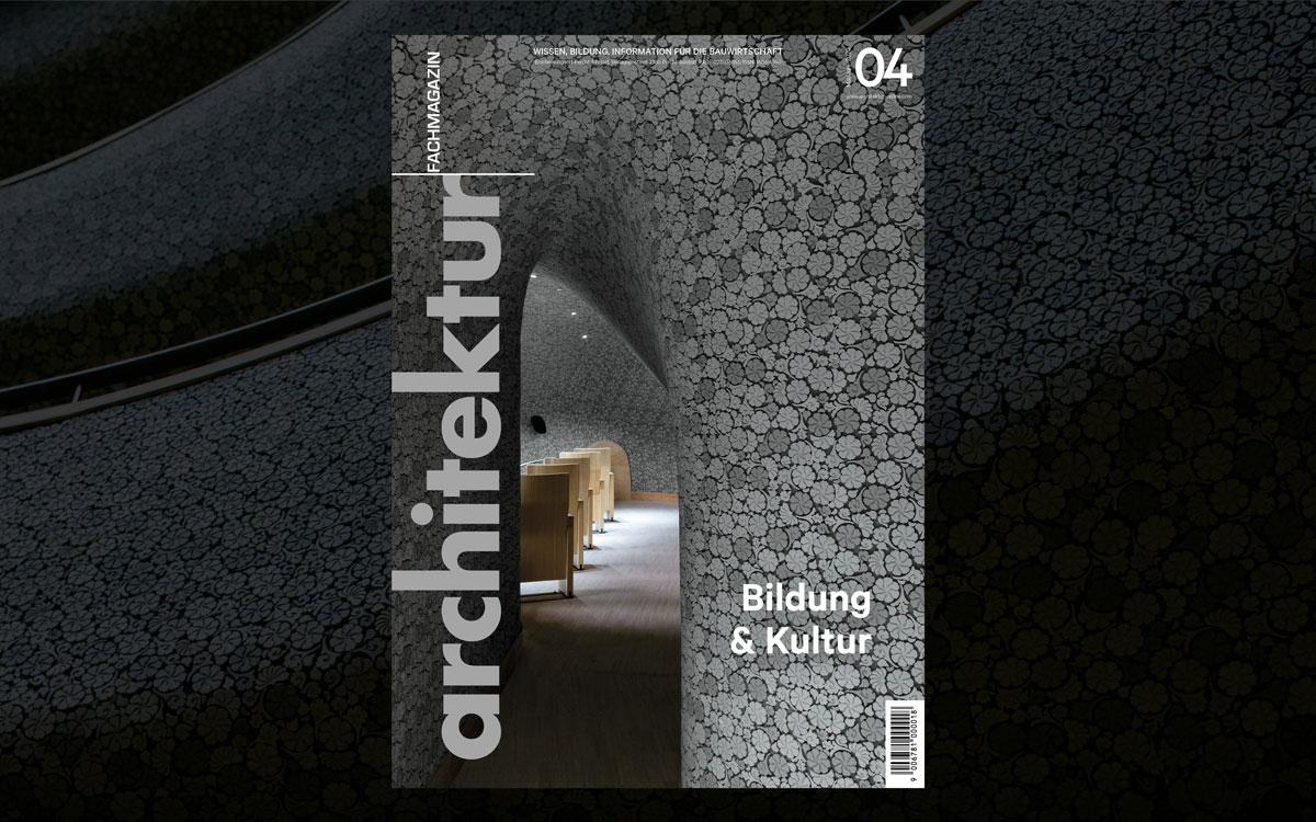 Architektur Fachmagazin Ausgabe 04/2020