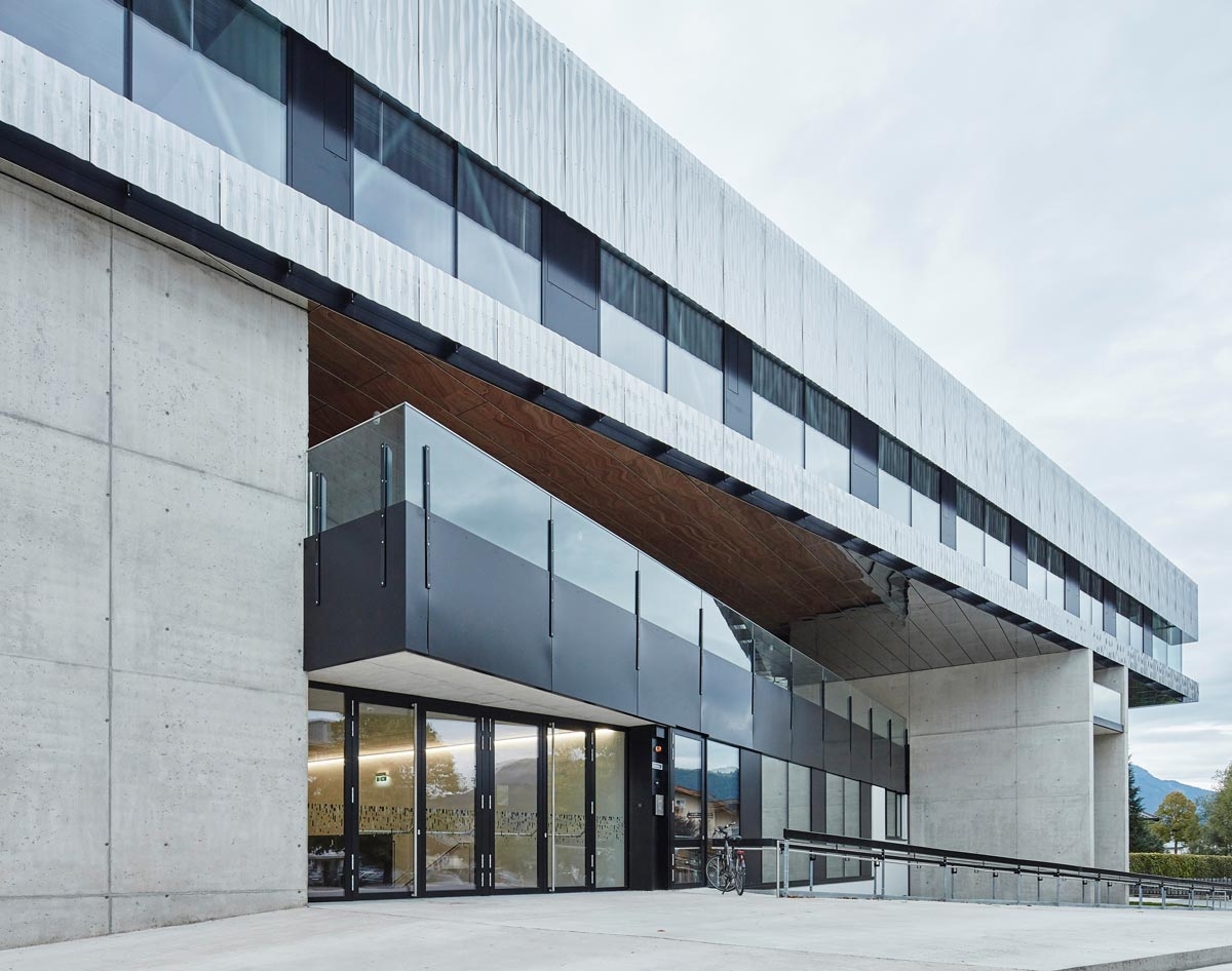 wiesflecker-architekten HBLA für Tourismus in St. Johann/Tirol