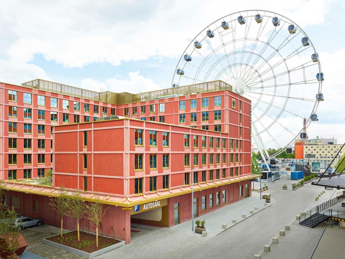 Hotelneubau Werk 17
