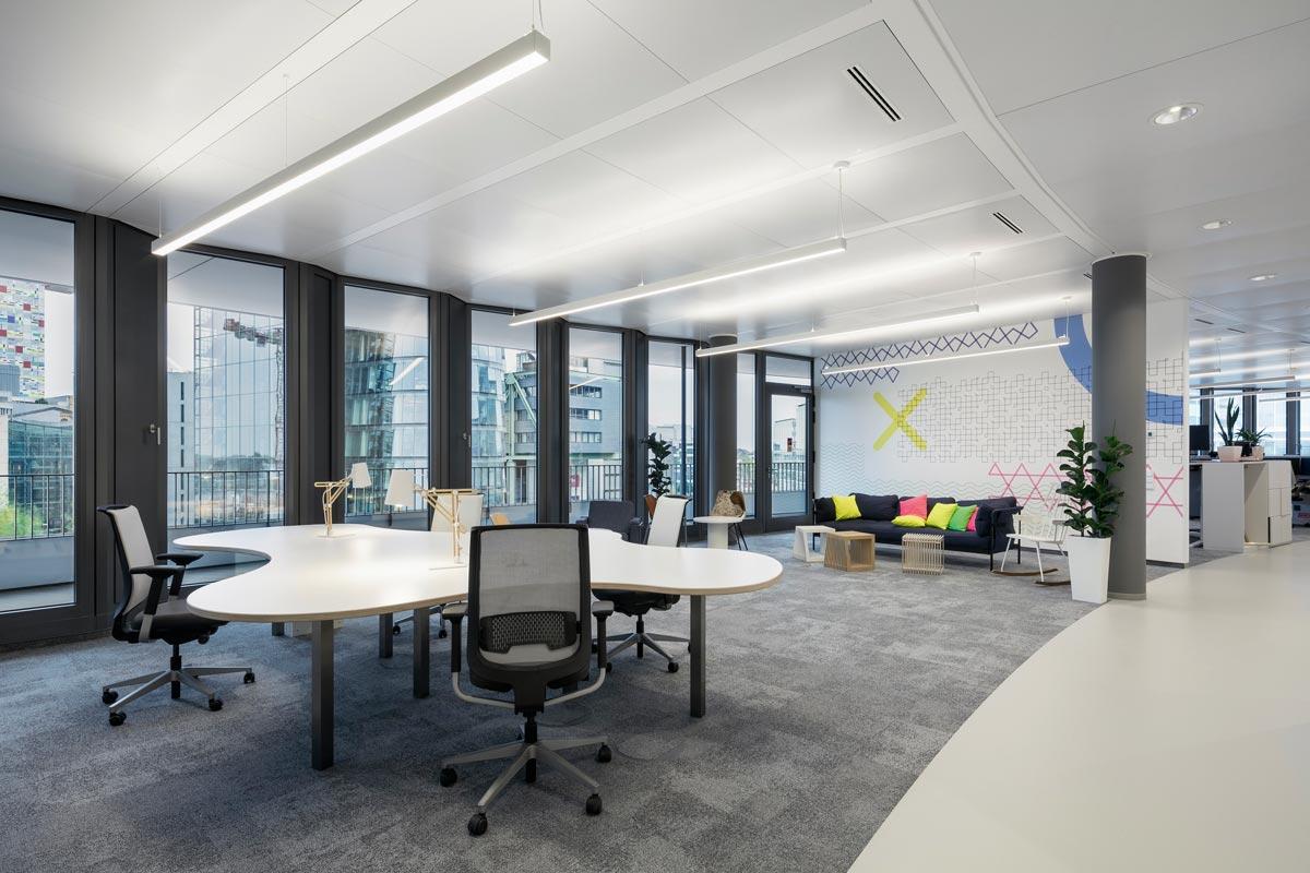 Firmencampus der Trivago-Zentrale im Düsseldorfer