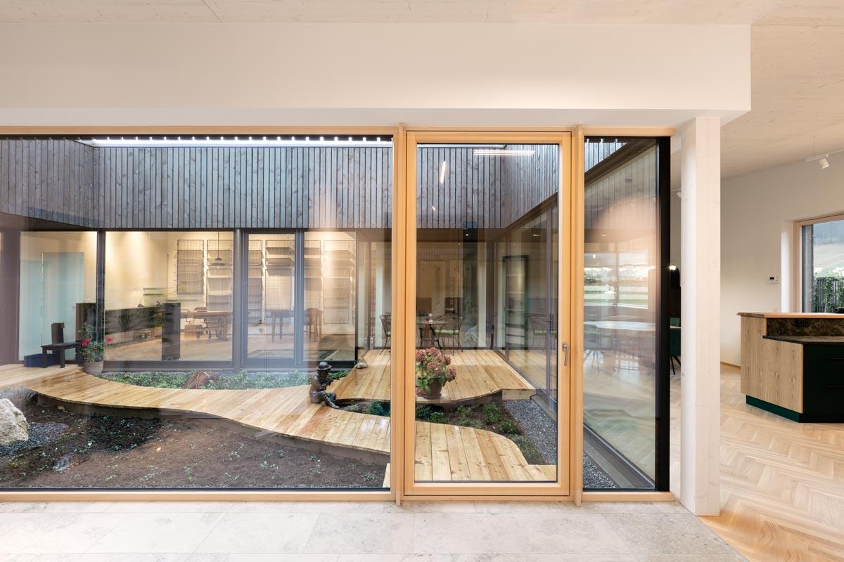 Atriumhaus S - Steinkogler Aigner Architekten