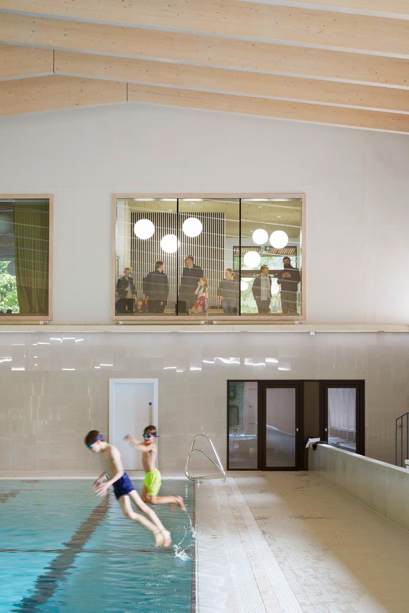 City of London Freemen's School Poolgebäude