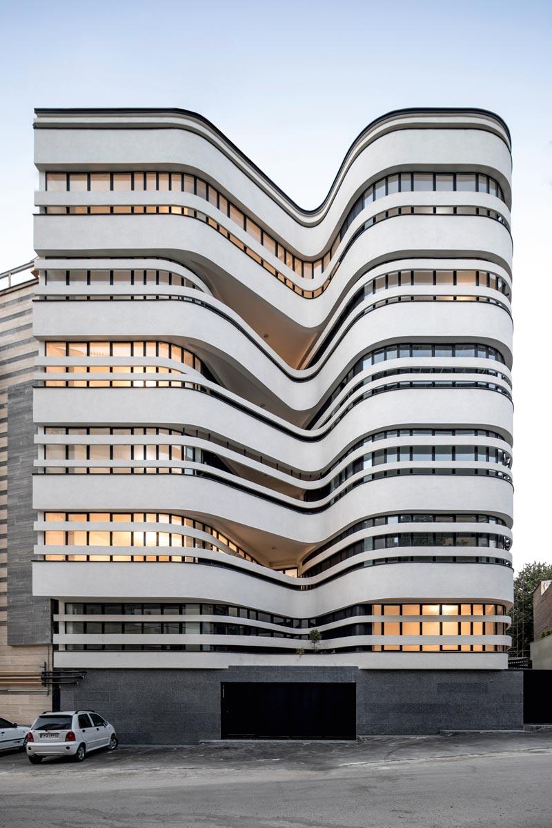Atlas Medical Office Building Hamedan, Iran