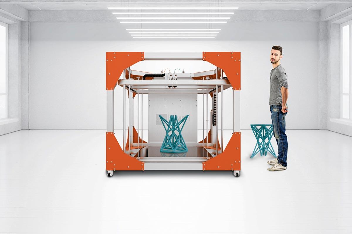 Industrieller 3d-Drucker