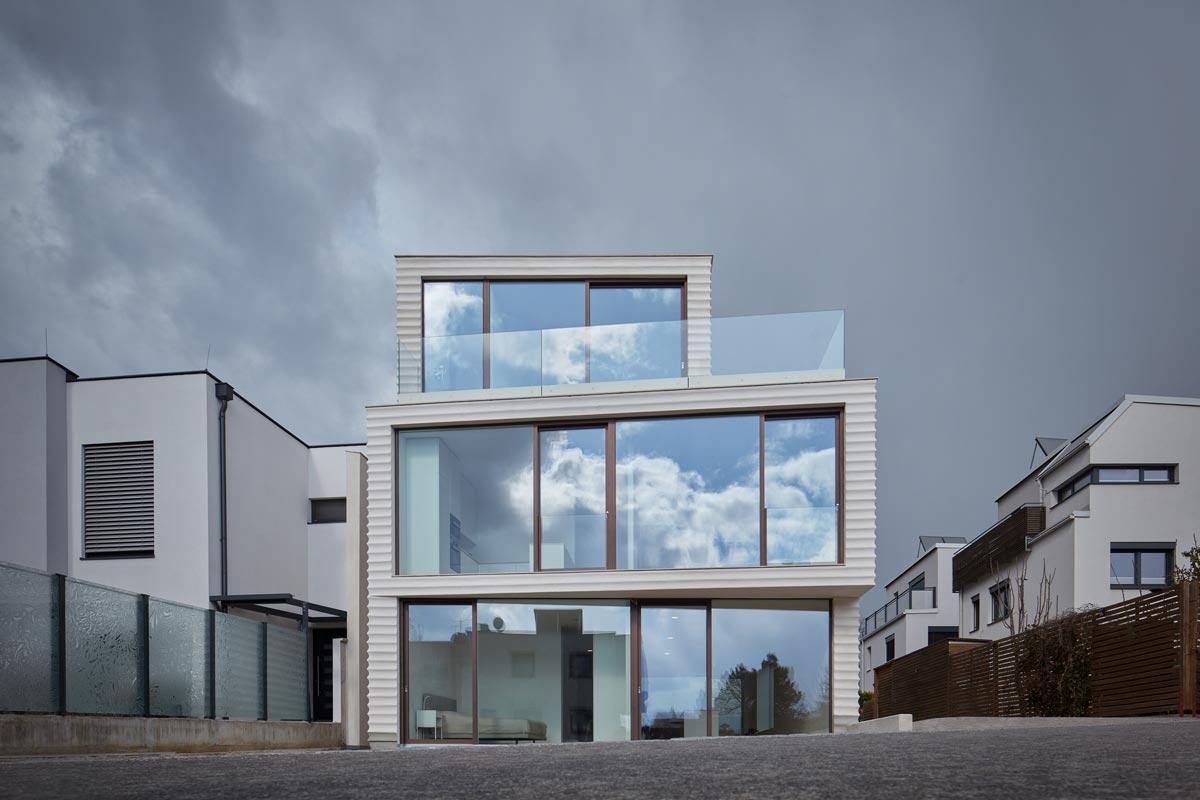 Architekt Jan Proksa Wohnhaus mit Kalkputzfassade