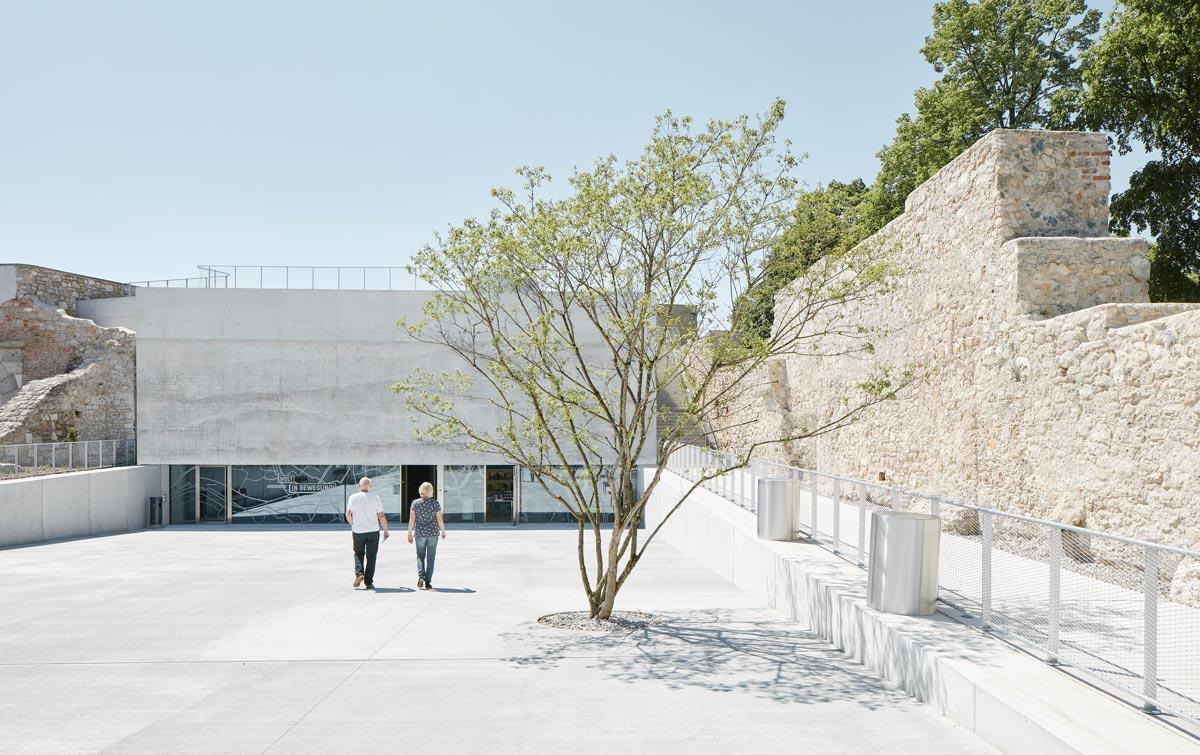 Material Beton: KASEMATTEN der Neuen Bastei in Wiener Neustadt