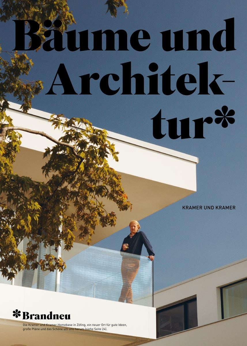 Kramer und Kramer Katalog Bäume und Architektur