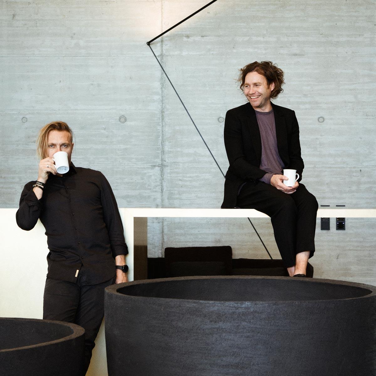 Bernhard Kramer und Joachim Hirzi