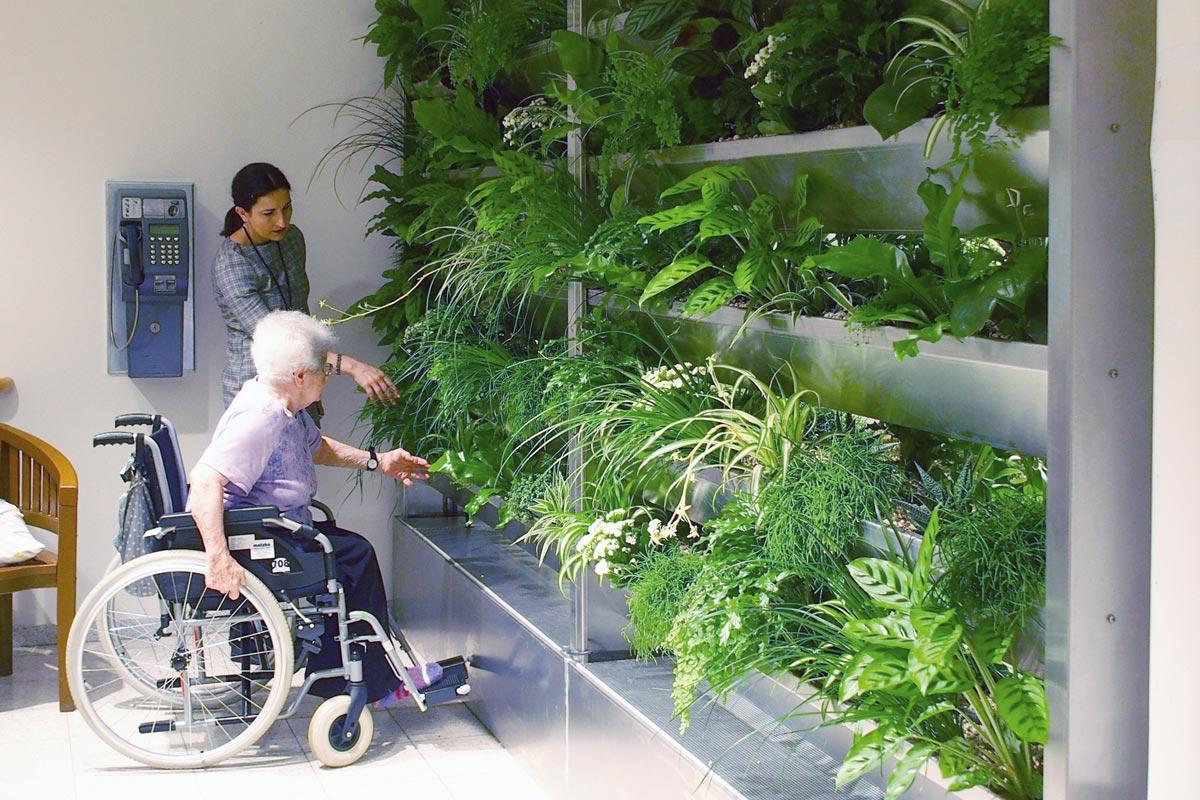 Begrünungsstrategie für Alten- und Pflegeheime