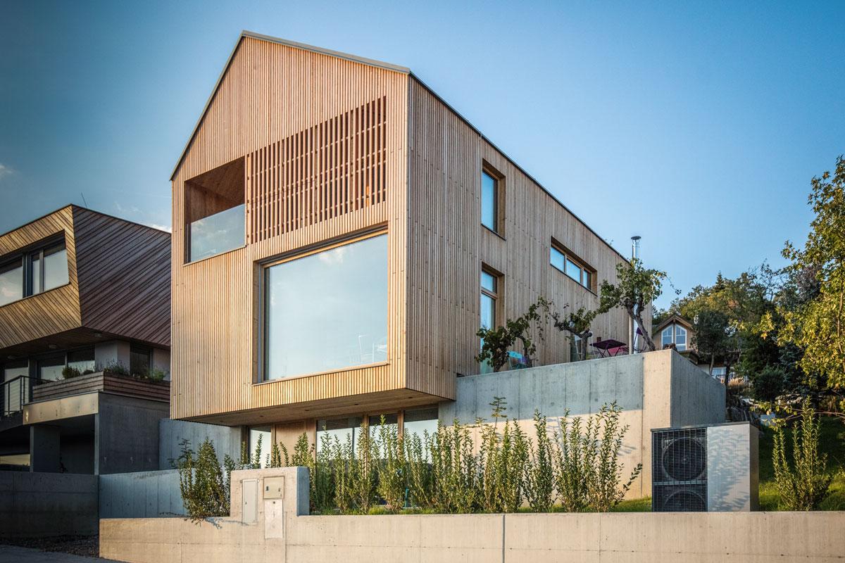 Material Holz: Projekt 58 SEKUNDEN des Wiener Architekturbüros JOSEP