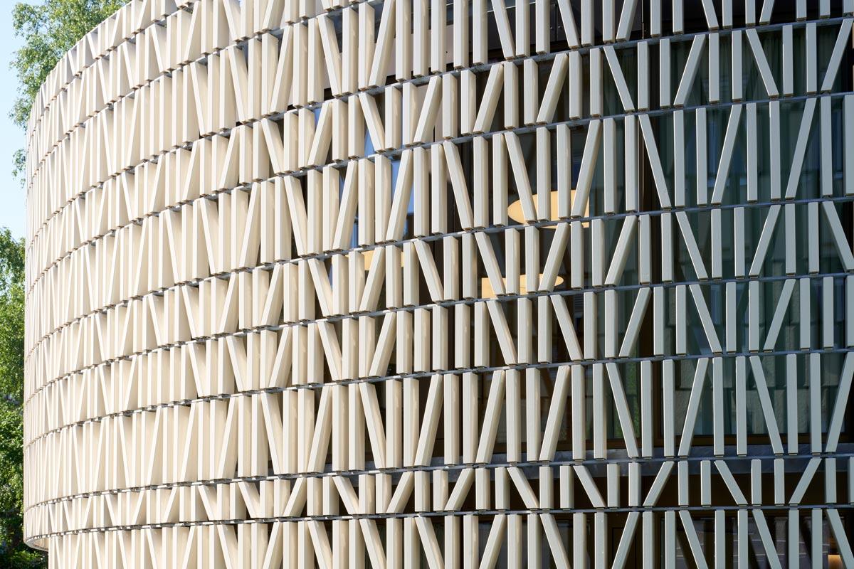 Stadtbibliothek Dornbirn Fassade