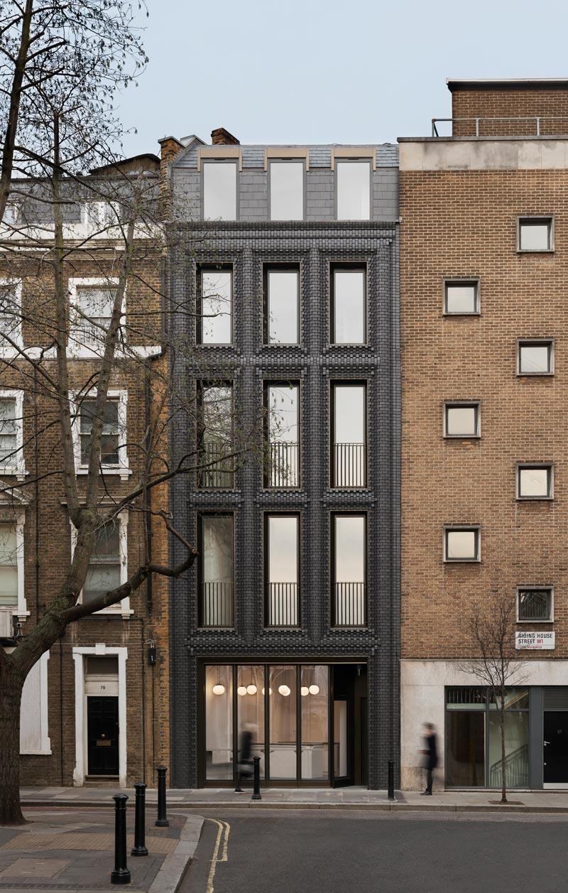 Backsteinfassade von The Interlock - Architekturbüro Bureau de Change