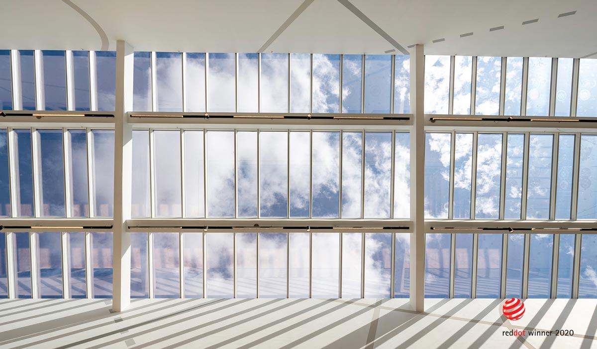 Tageslichtplanung - Glasdachsystem VELUX Modular Skylights